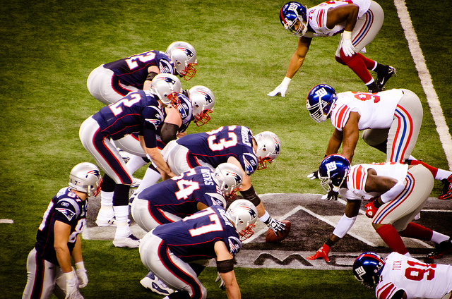 New York Giants, New England Patriots, Superbowl 2012