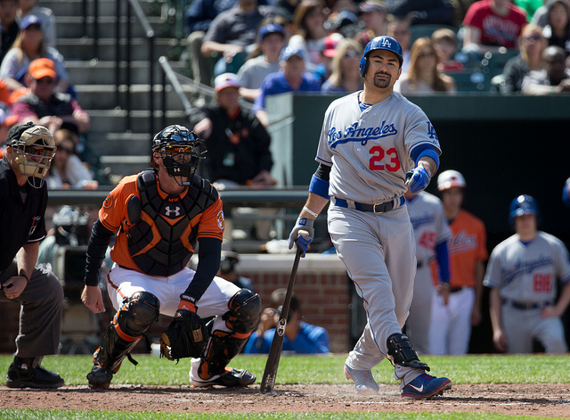 Adrian Gonzalez via Keith Allison Flickr