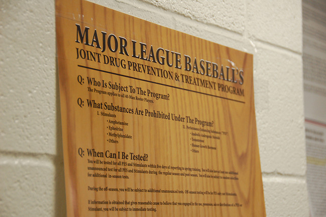 MLB Drug Agreement via Dave Herholz Flickr