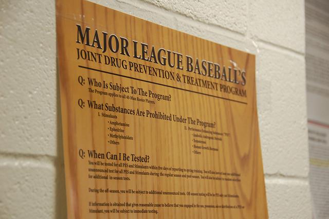 MLB Drug Agreement via Dave Herholz Flickr