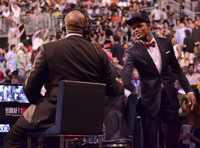 NBA Draft, source -- Joseph Glorioso Photography, Flickr