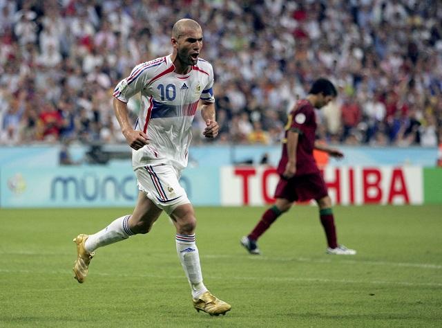 Zinedine Zidane France soccer