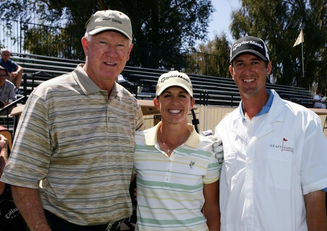 John Havlicek and friends at a TaylorMade event.
