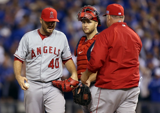 Division Series: Los Angeles Angels of Anaheim v. Kansas City Royals, Game 3