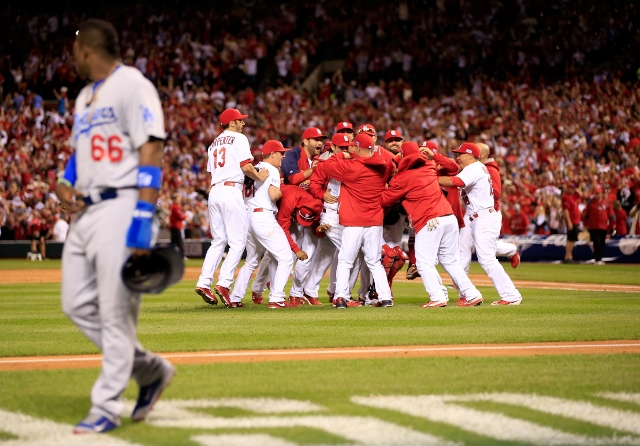 Division Series: Los Angeles Dodgers v. St Louis Cardinals, Game 4