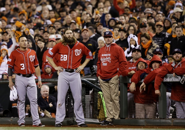 Division Series: Washington Nationals v. San Francisco Giants, Game 4