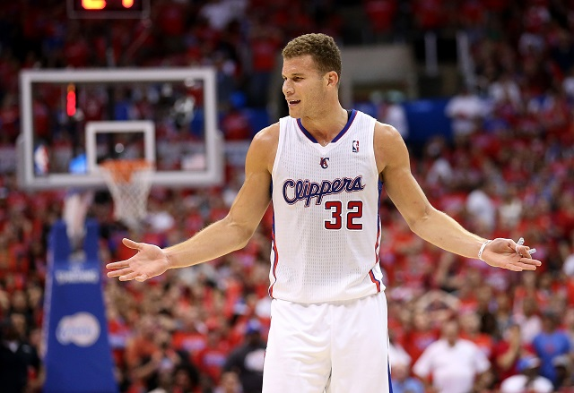 Blake Griffin playing for the Clippers