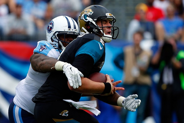 Blake Bortles #5 of the Jacksonville Jaguars