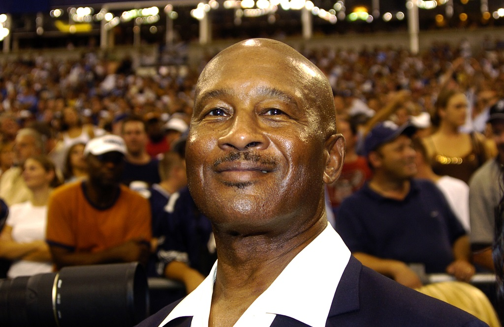 Dallas Cowboys great Mel Renfro on the sidelines during a Monday Night Football game.