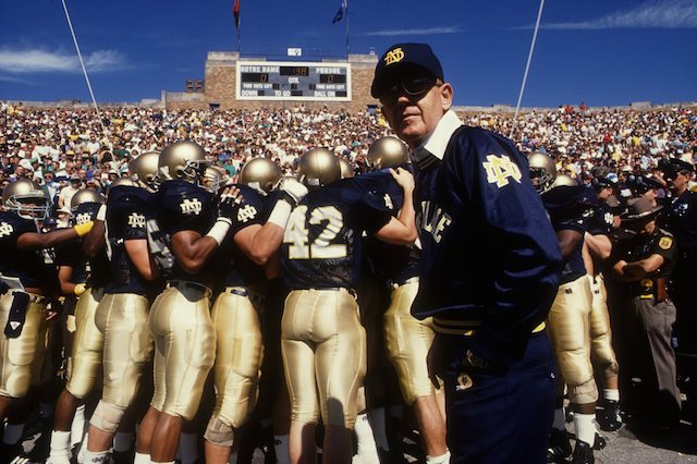 Lou Holtz | Jonathan Daniel/Getty Images
