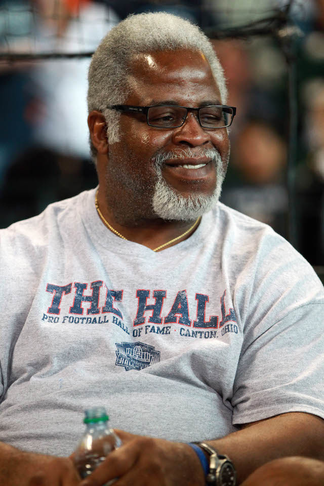 The famous running back Earl Campbell