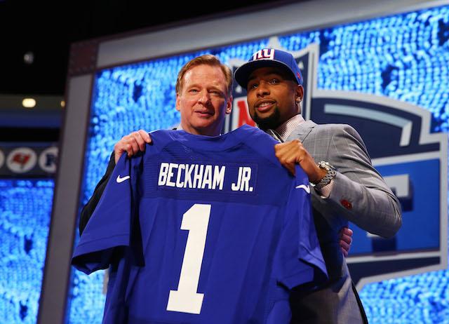 Odell Beckham Jr. selected during the 2014 NFL Draft