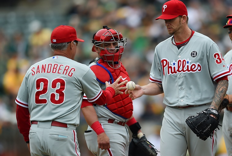 Philadelphia Phillies v Oakland Athletics