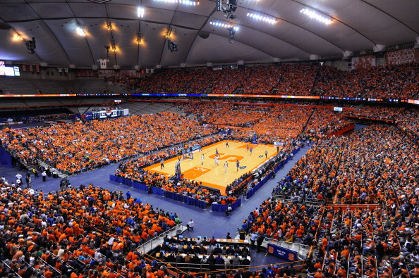 Syracuse gets a boost in the Carrier Dome.