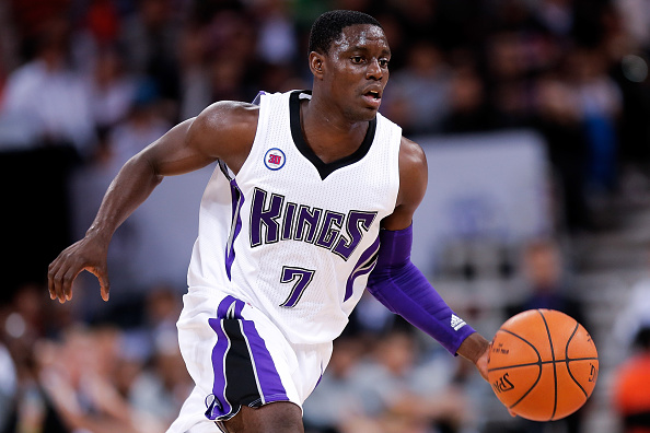 Darren Collison of the Sacramento Kings.