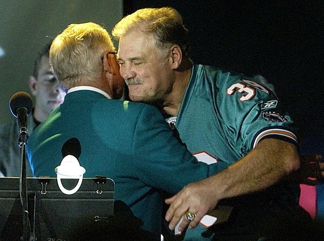 Miami Dolphins former running back Larry Csonka