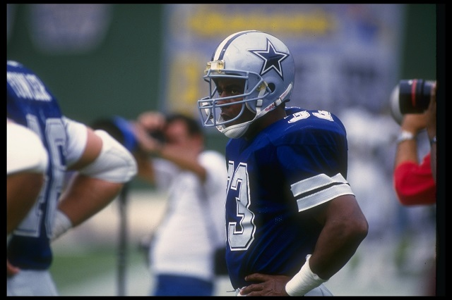 Running back Tony Dorsett of the Dallas Cowboys