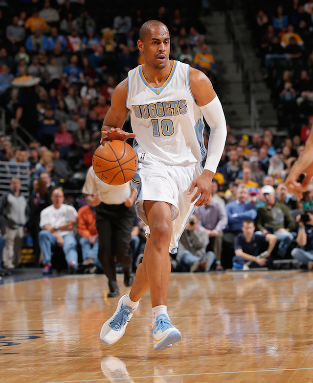 Arron Afflalo of the Denver Nuggets.