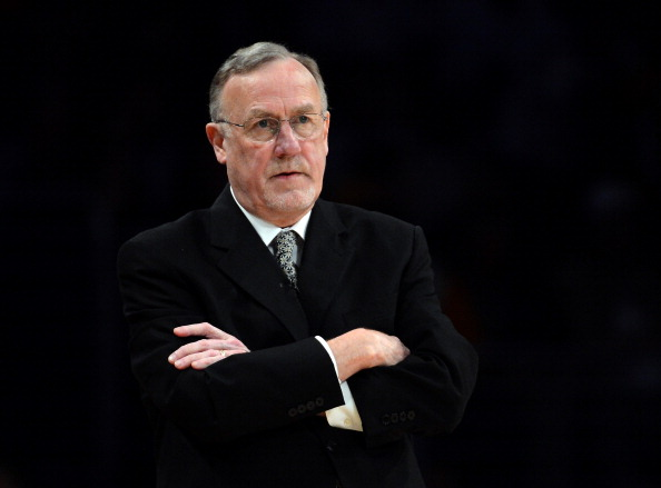 Rick Adelman assesses his team's play from the sideline.
