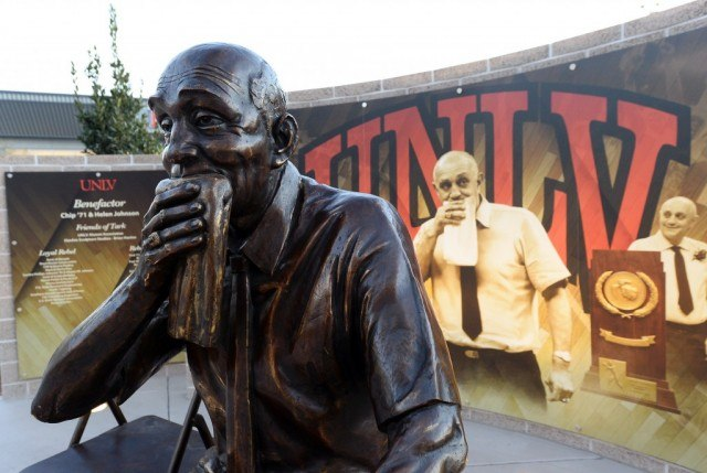 A tribute to the towel-chewing Tarkanian | Getty Images