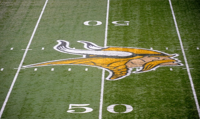 The Minnesota Vikings logo