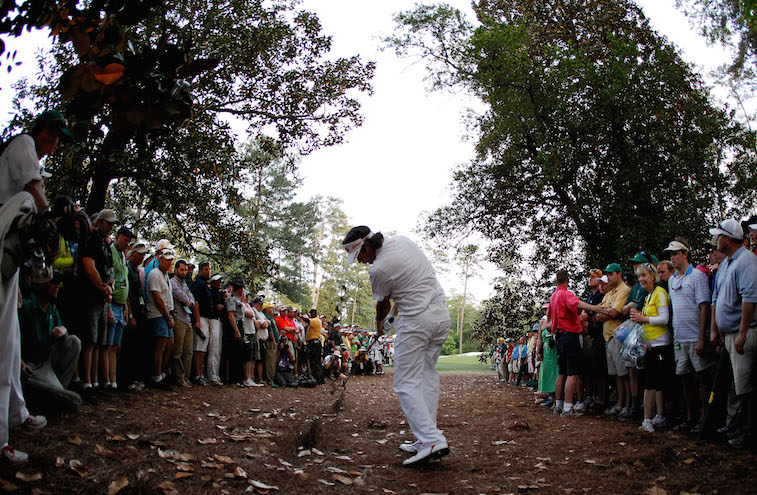 Bubba Watson is about the make history.