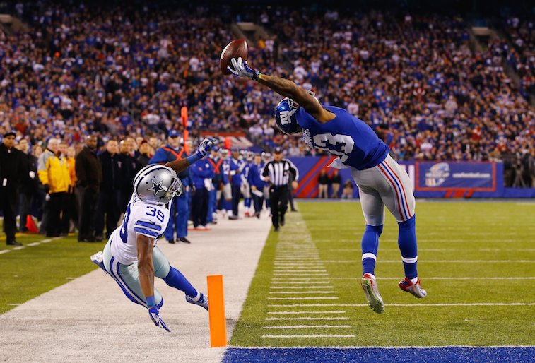 Odell Beckham Jr. makes amazing catch