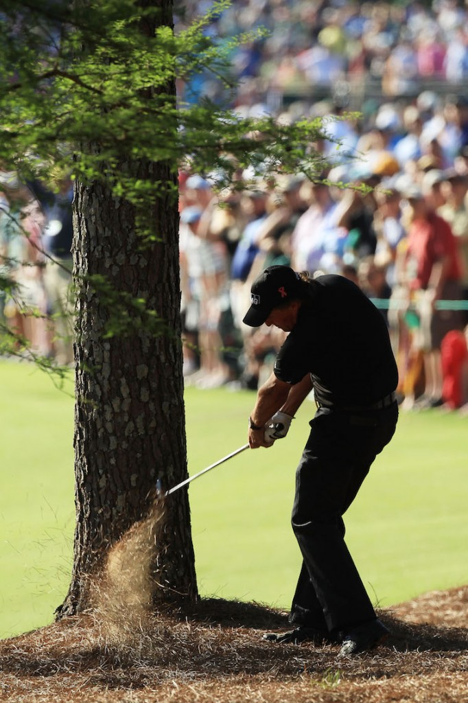 Phil Mickelson attempts the nearly impossible.