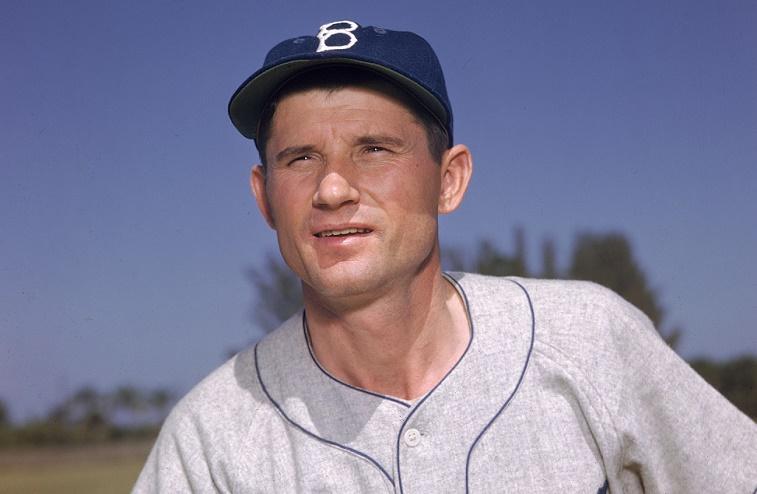 Dodgers' Preacher Roe