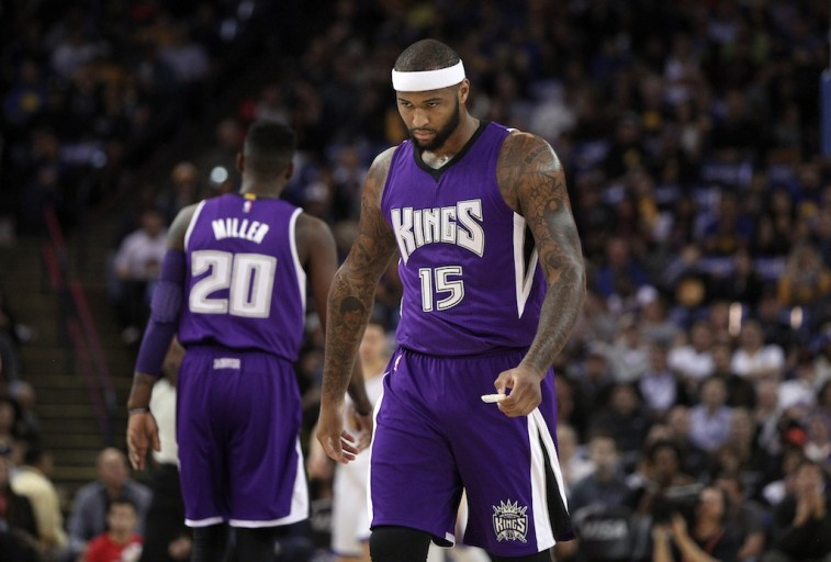DeMarcus Cousins of the Sacramento Kings