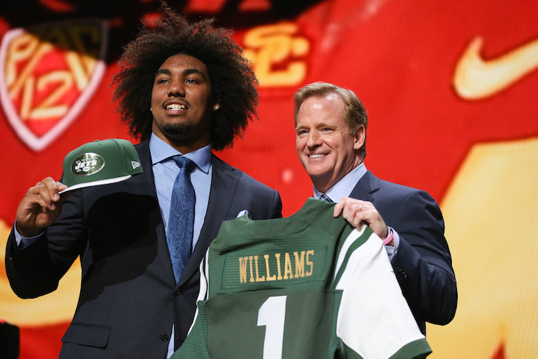 Leonard Williams at 2015 NFL Draft