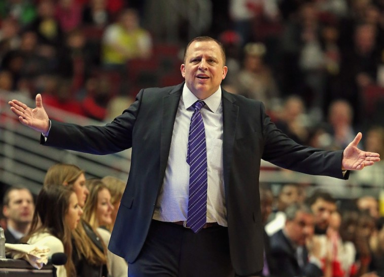 Chicago Bulls Tom Thibodeau
