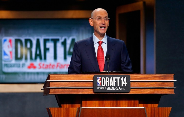 Commissioner Adam Silver at the 2014 NBA Draft