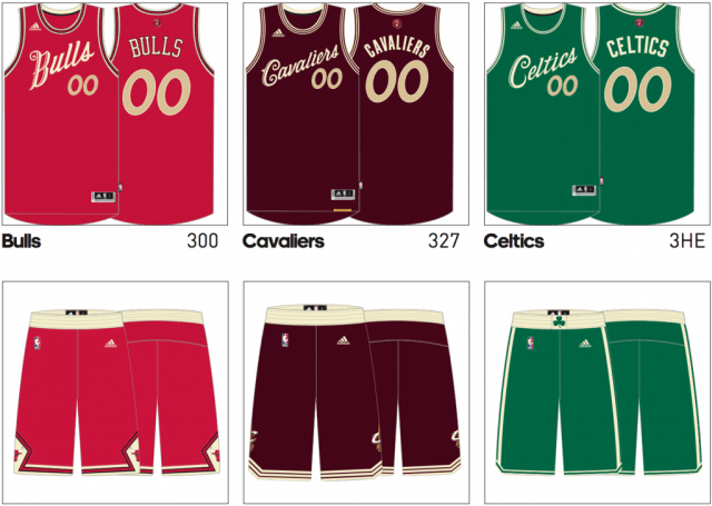 819edba5f The 5 NBA Teams With Perfect Christmas Day Jerseys