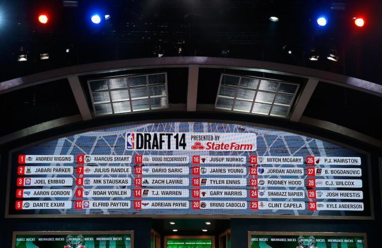 2014 NBA Draft board