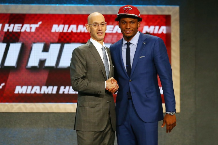 Justice Winslow at 2015 NBA Draft