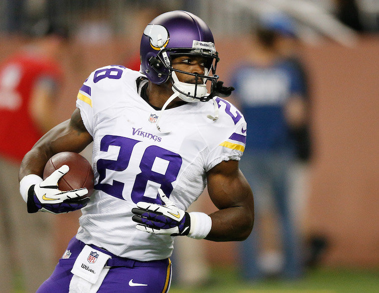 Adrian Peterson is one of the best ever, but he might not be back in Minnesota next year | Gregory Shamus/Getty Images