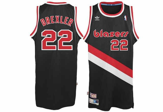 Blazers Throwback Jersey