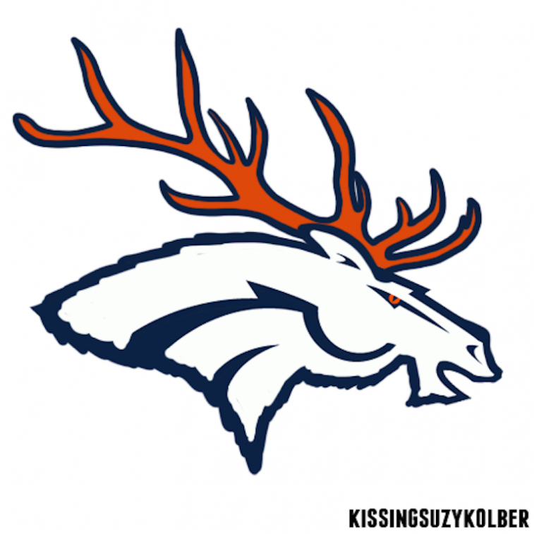 Broncos Canadian-Themed Logo