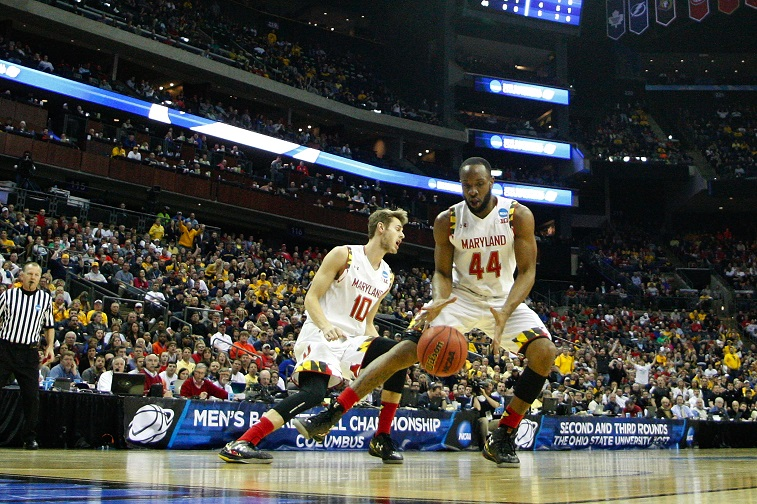 COLUMBUS, OH - MARCH 22: during the third round of the 2015 NCAA Men's Basketball Tournament at Nationwide Arena on March 22, 2015 in Columbus, Ohio.