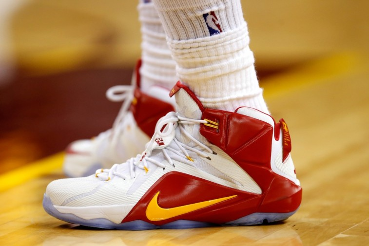 LeBron James's Nike shoes