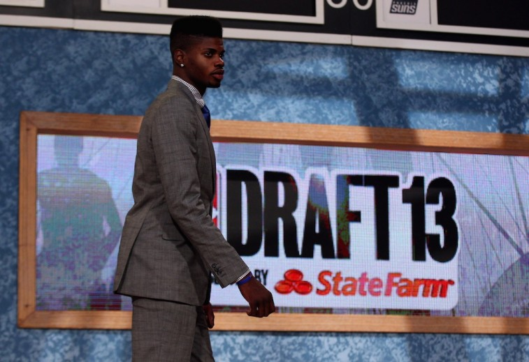 Nerlens Noel gets selected during the 2013 NBA Draft