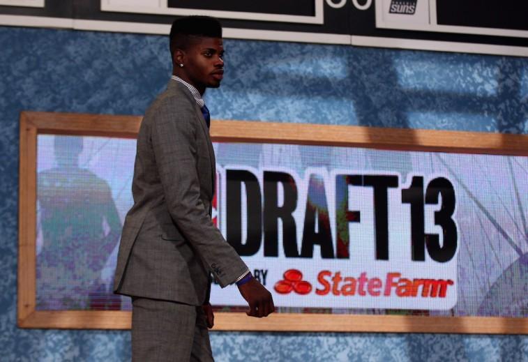 Nerlens Noel gets selected during the 2013 NBA Draft