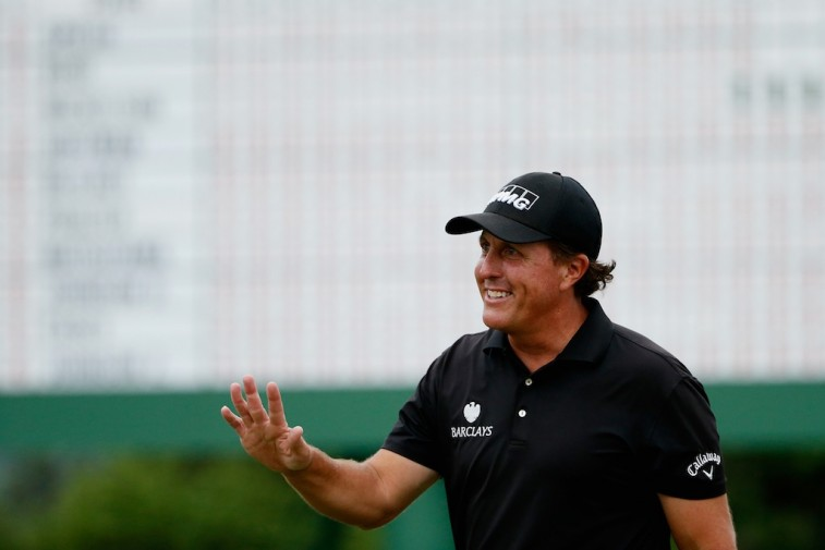 Phil Mickelson after the 2015 Masters