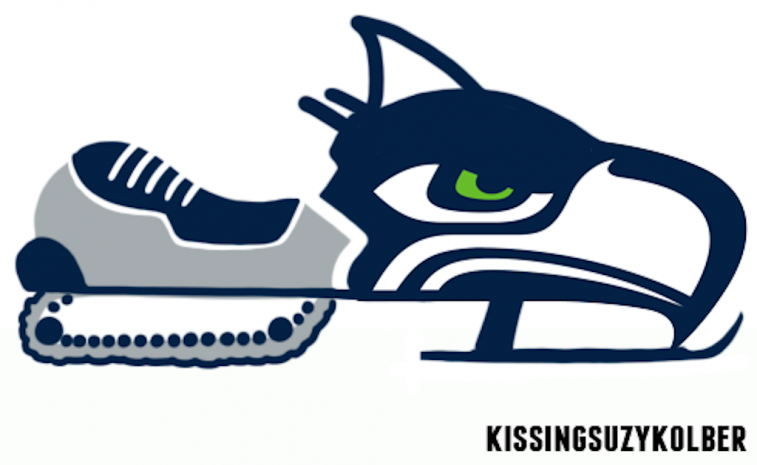 Seahawks Canadian-Themed Logo
