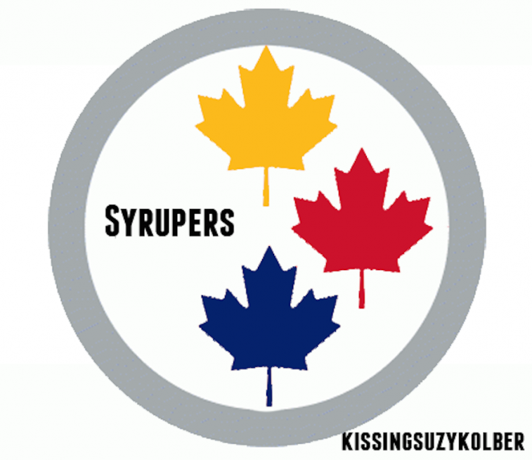 Steelers Canadian-Themed Logo