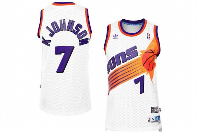 Suns Throwback Jersey