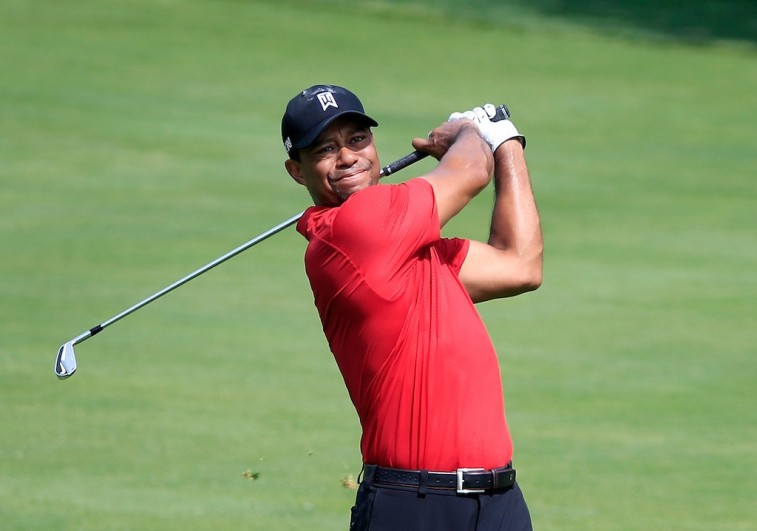 Tiger Woods shoots at The Memorial