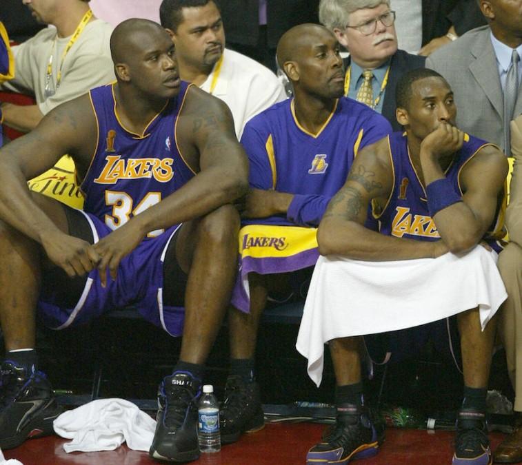 2003-04 Lakers react to losing NBA Finals