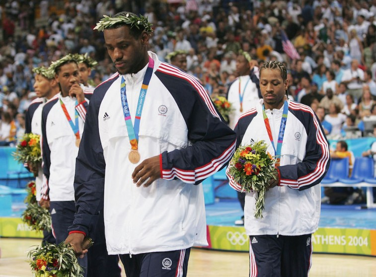 2004 U.S. Men's Olympic basketball team disappointed after bronze medal